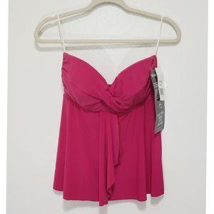 Miraclesuit Tankini Pink Top